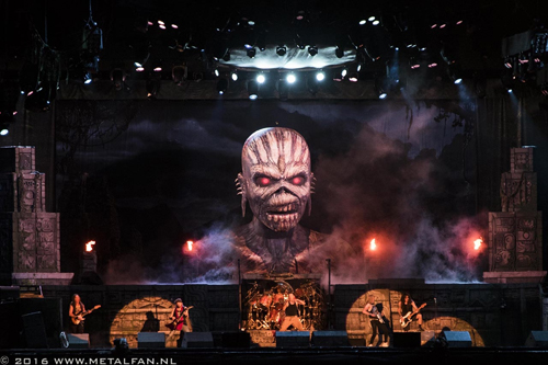 Iron Maiden Wacken Open Air 2016 Foto door Tonnie Westerbeke
